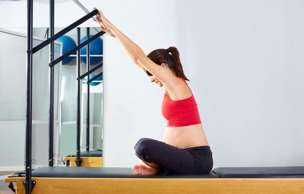 pilates maquina embarazada